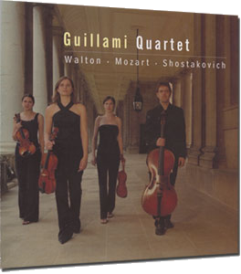 Guillami String Quartet Debut CD